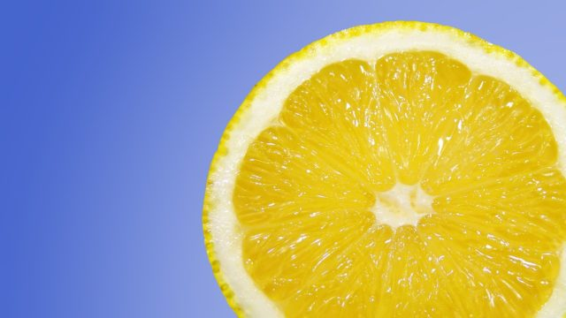 lemon to cure acne and acne scar