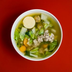 Drink Teas and Warm Soups to get rid of blocked nose