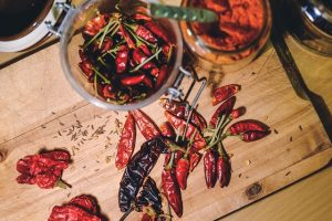Eat spicy food to clear a stuffy nose